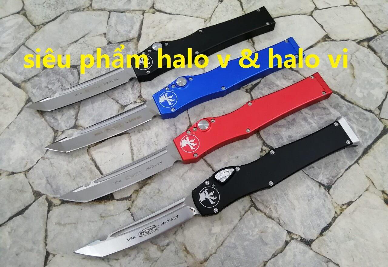 Dao Bấm Microtech Halo V USA
