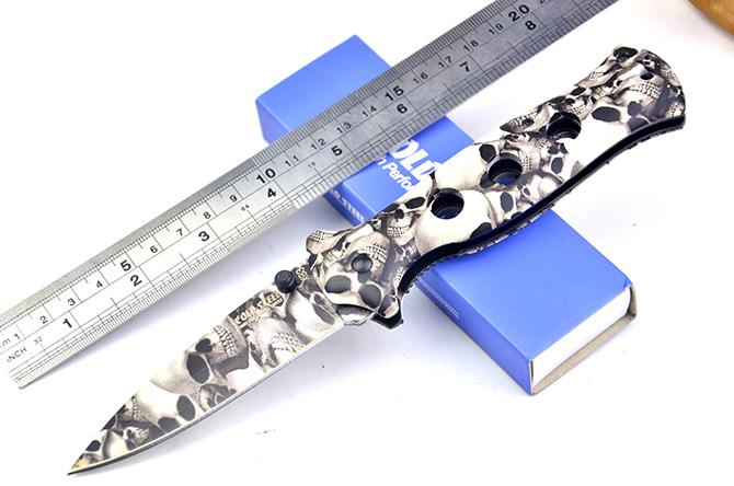 Dao Xếp Cold Steel Đầu Lâu X33 Dài 22cm