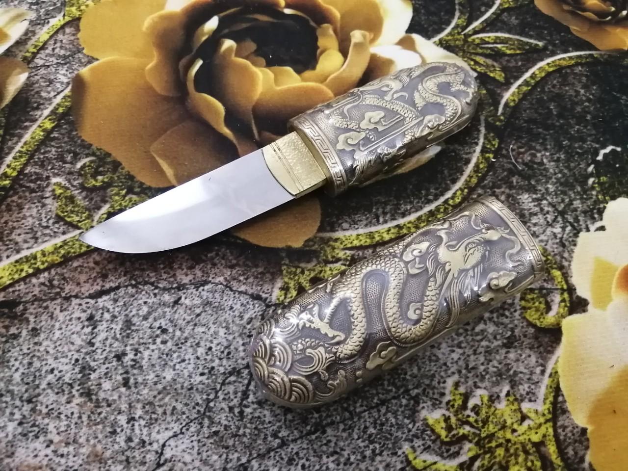 Dao Kim Long Cao Cấp Mạ Vàng 20cm